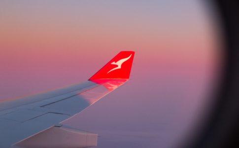 カンタス航空の機体