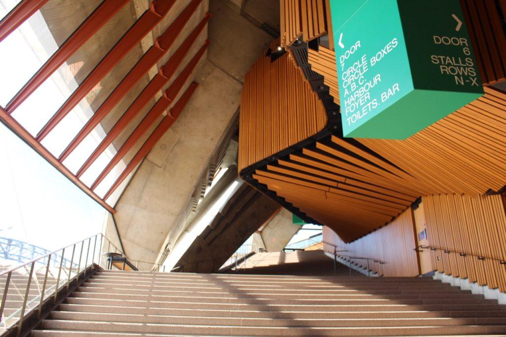 シドニー・オペラハウスの見学ツアー