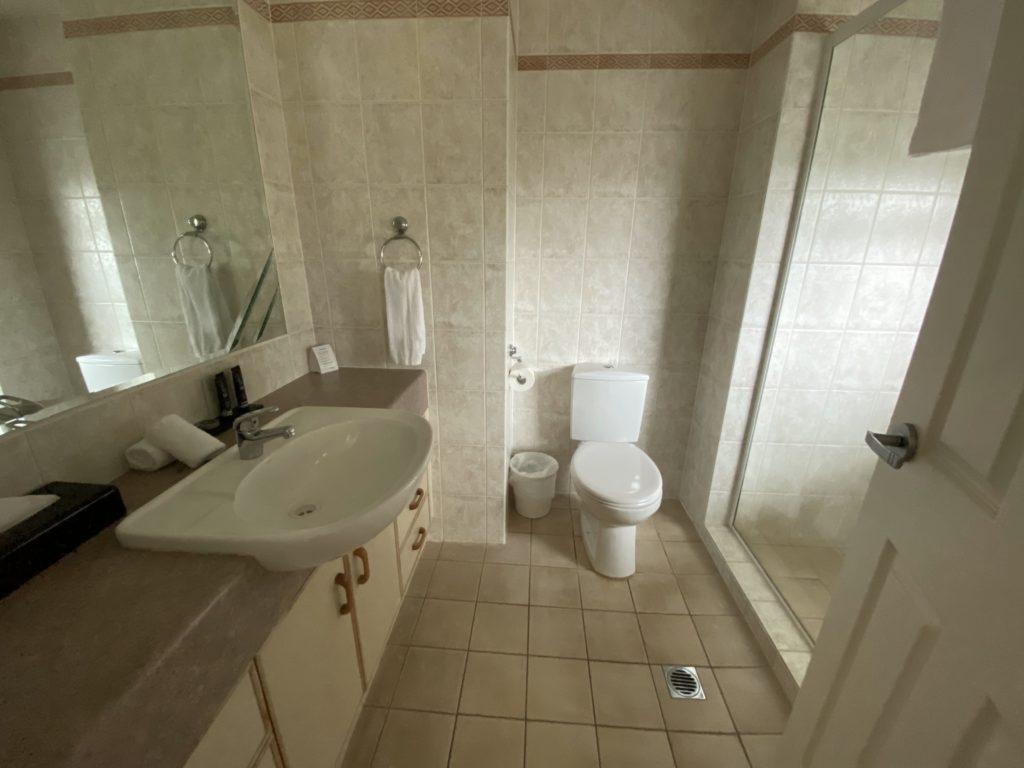マントラ・サンシティの浴室