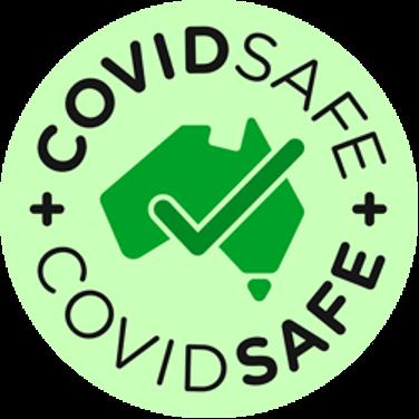 COVIDSafeアプリロゴ